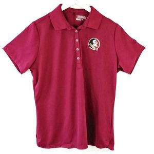 Nike Tops - Nike golf Florida Seminole Short sleeve polo XL